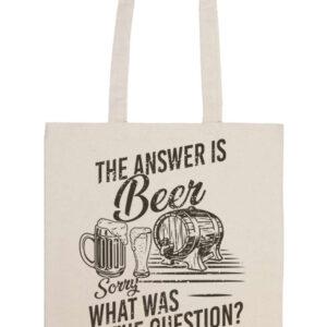 The answer is beer – Basic hosszú fülű táska