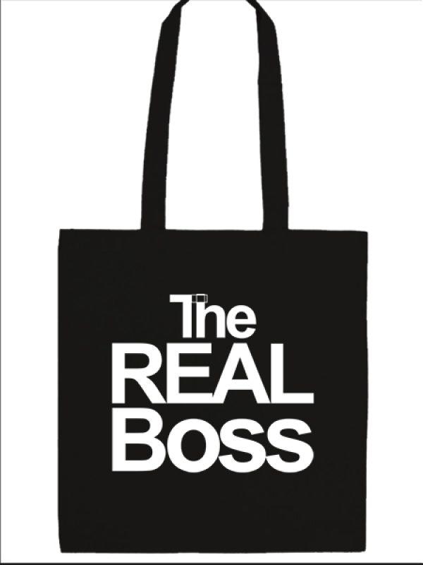 Táska hosszú fülű The real boss fekete