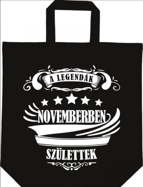 Táska rövid fülű A legendák novemberben születtek fekete