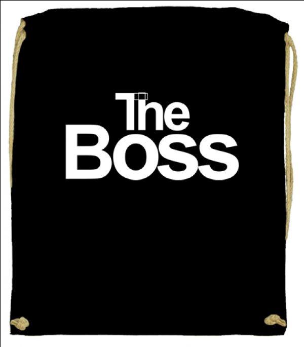 Tornazsák The boss fekete