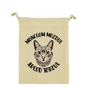 Macska mancs – Vászonzacskó közepes