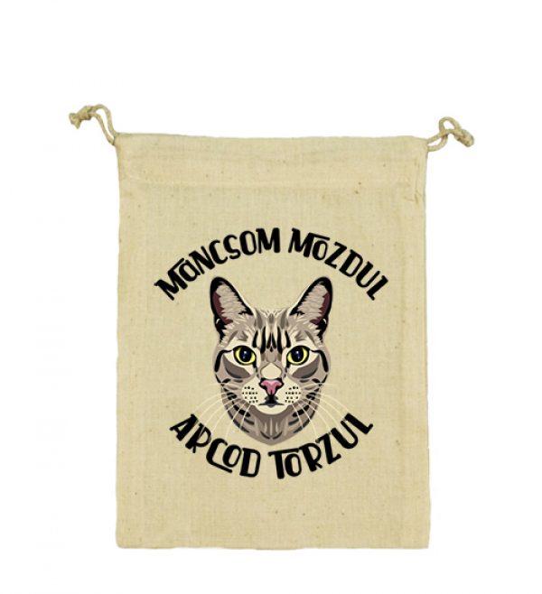 Vászonzacskó Macska mancs
