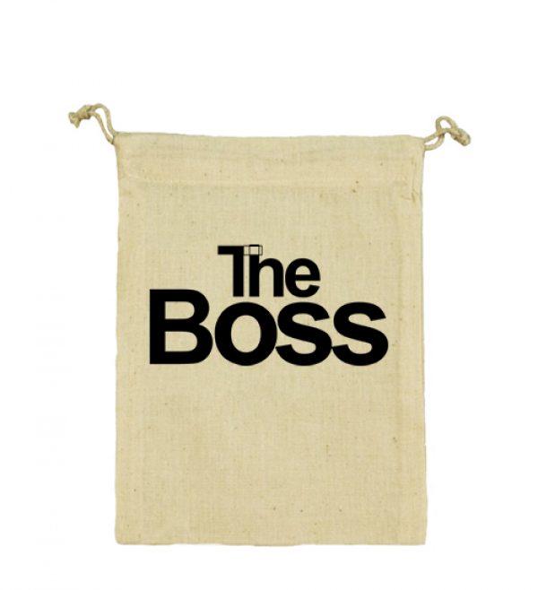 Vászonzacskó The boss
