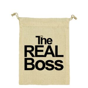 The real boss – Vászonzacskó kicsi