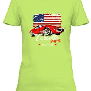 Corvette – Női póló