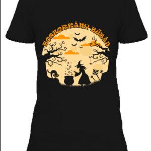 Halloween boszorkány bűbáj – Női póló