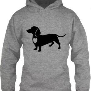 Tacskó – Unisex kapucnis pulóver