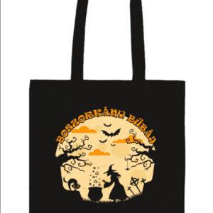 Halloween boszorkány bűbáj – Prémium hosszú fülű táska