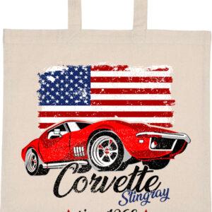 Corvette Stingray – Basic rövid fülű táska