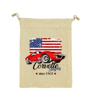 Corvette – Vászonzacskó közepes