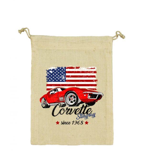 Vászonzacskó Corvette