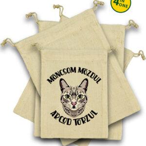Macska mancs – Vászonzacskó szett