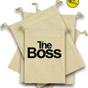 The boss – Vászonzacskó szett