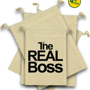 The real boss – Vászonzacskó szett