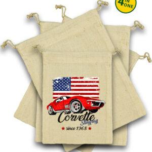 Corvette – Vászonzacskó szett