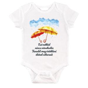 Eső nélkül nincs növekedés – Baby Body