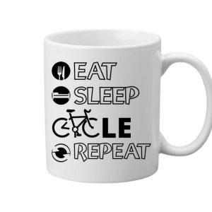 Eat sleep cycle repeat – Bögre