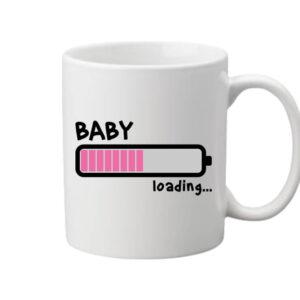 Loading lány – Bögre