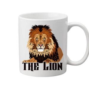 The lion Az oroszlán – Bögre