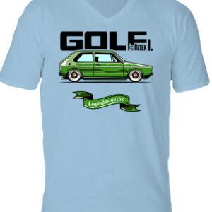 Golf őrültek I – Férfi V nyakú póló