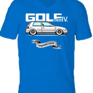 Golf őrültek IV – Férfi V nyakú póló