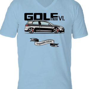 Golf őrültek VI – Férfi V nyakú póló
