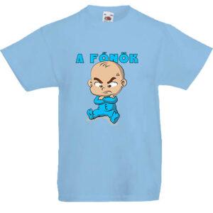 A főnök fiú- Gyerek póló