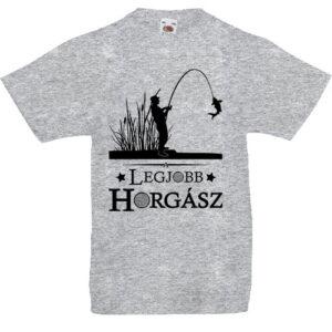 A legjobb horgász- Gyerek póló