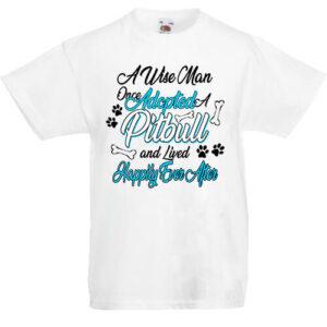Adopted pitbull- Gyerek póló