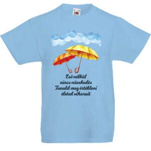 Eső nélkül nincs növekedés- Gyerek póló