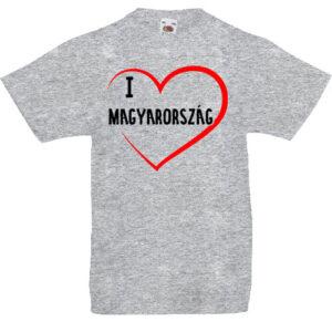 I love Magyarország- Gyerek póló