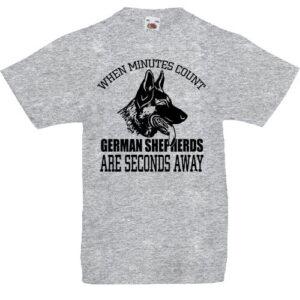 Németjuhász- Gyerek póló