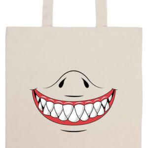 Cápafog mosoly- Prémium hosszú fülű táska