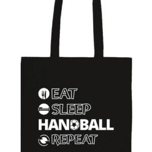 Eat sleep handball repeat- Basic hosszú fülű táska