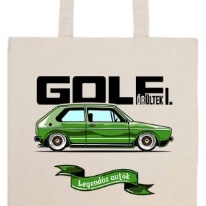 Golf őrültek I- Prémium hosszú fülű táska