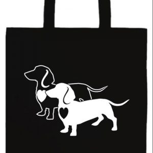 I love Tacskó- Basic hosszú fülű táska