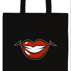 Női mosoly- Basic hosszú fülű táska