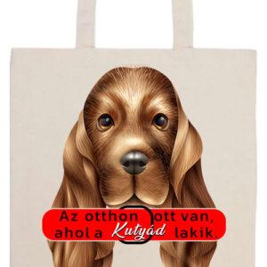 Otthon ahol a kutya- Prémium hosszú fülű táska