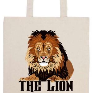 The lion Az oroszlán- Prémium hosszú fülű táska
