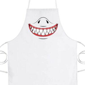 Cápafog mosoly- Prémium kötény