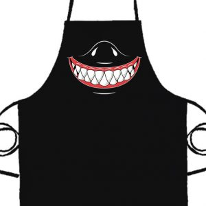 Cápafog mosoly- Basic kötény