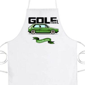 Golf őrültek I- Prémium kötény