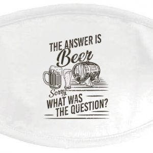 The answer is beer – maszk