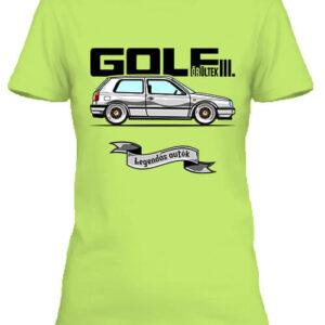 Golf őrültek III – Női póló