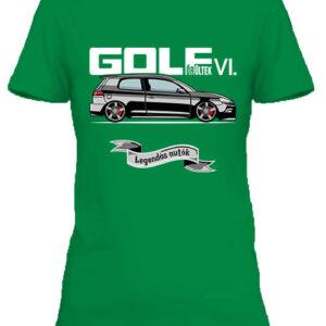 Golf őrültek VI – Női póló