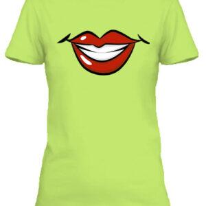 Női mosoly – Női póló