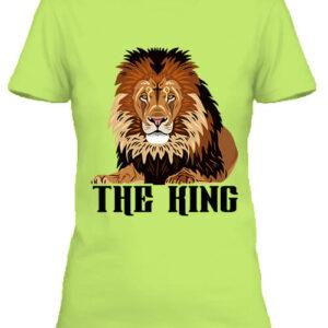 The king Az oroszlán – Női póló