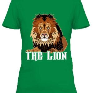The lion Az oroszlán – Női póló