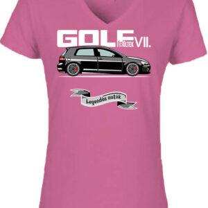 Golf őrültek VII – Női V nyakú póló