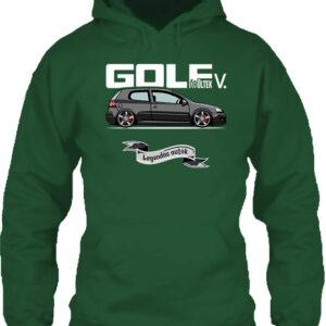 Golf őrültek V – Unisex kapucnis pulóver